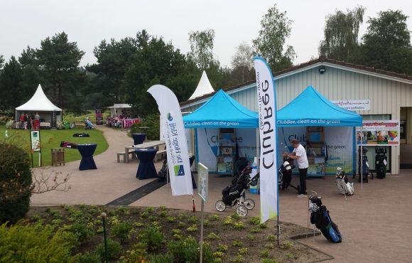 Clubbee bij golfclub Hoge Klei